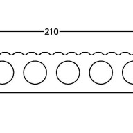 Deska tarasowa szeroka UH22 (210x22.5mm)